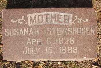 STEINSHOUER, SUSANAH - Douglas County, Nebraska   SUSANAH STEINSHOUER - Nebraska Gravestone Photos