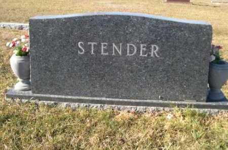 STENDER, FAMILY - Douglas County, Nebraska | FAMILY STENDER - Nebraska Gravestone Photos