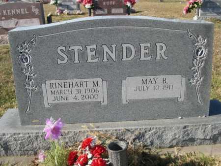 STENDER, MAY B. - Douglas County, Nebraska   MAY B. STENDER - Nebraska Gravestone Photos