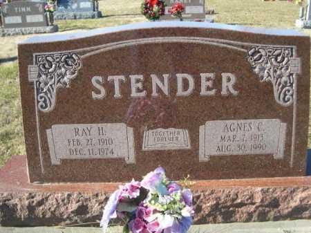 STENDER, RAY H. - Douglas County, Nebraska | RAY H. STENDER - Nebraska Gravestone Photos