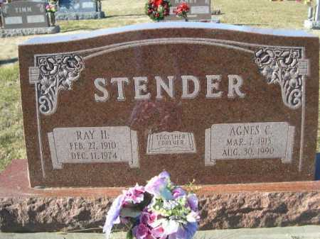 STENDER, AGNES C. - Douglas County, Nebraska   AGNES C. STENDER - Nebraska Gravestone Photos