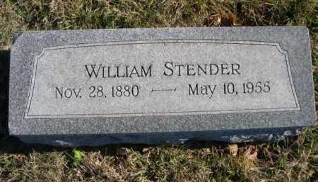STENDER, WILLIAM - Douglas County, Nebraska | WILLIAM STENDER - Nebraska Gravestone Photos