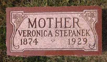 STEPANEK, VERONICA - Douglas County, Nebraska   VERONICA STEPANEK - Nebraska Gravestone Photos
