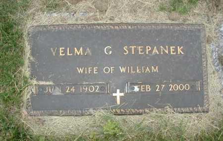 STEPANEK, VELMA G - Douglas County, Nebraska   VELMA G STEPANEK - Nebraska Gravestone Photos