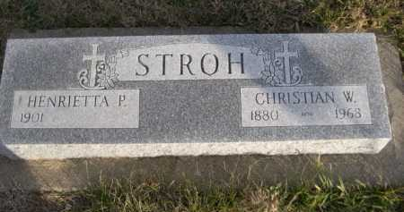 STROTH, CHRISIAN W. - Douglas County, Nebraska | CHRISIAN W. STROTH - Nebraska Gravestone Photos