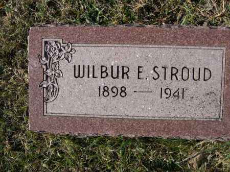 STROUD, WILBER E. - Douglas County, Nebraska | WILBER E. STROUD - Nebraska Gravestone Photos