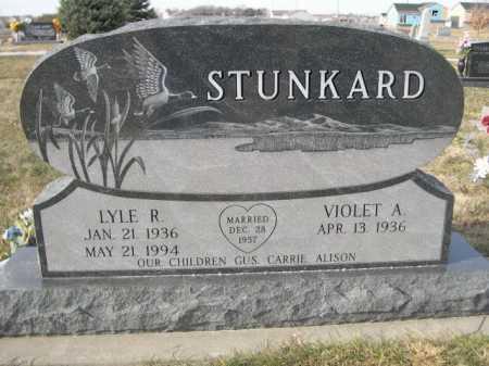 STUNKARD, LYLE R. - Douglas County, Nebraska   LYLE R. STUNKARD - Nebraska Gravestone Photos