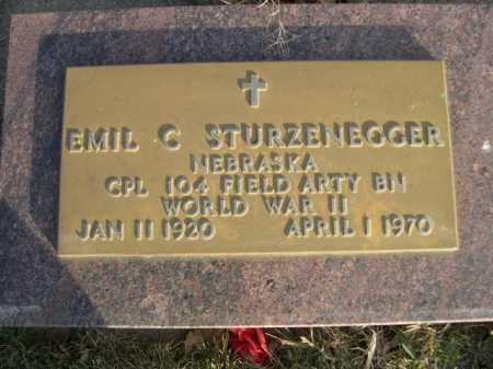 STURZENEGGER, EMIL C. - Douglas County, Nebraska | EMIL C. STURZENEGGER - Nebraska Gravestone Photos
