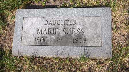 SUESS, MARIE - Douglas County, Nebraska | MARIE SUESS - Nebraska Gravestone Photos