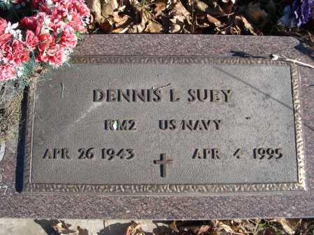 SUEY, DENNIS L. - Douglas County, Nebraska   DENNIS L. SUEY - Nebraska Gravestone Photos
