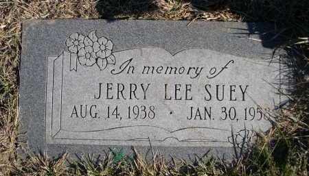 SUEY, JERRY LEE - Douglas County, Nebraska | JERRY LEE SUEY - Nebraska Gravestone Photos