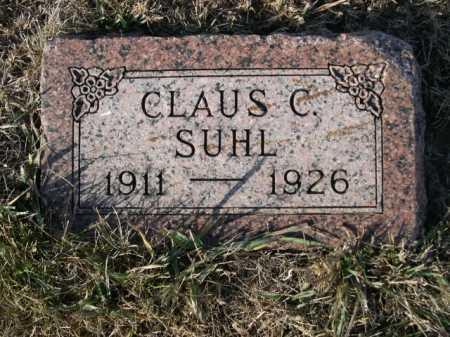 SUHL, CLAUS C. - Douglas County, Nebraska | CLAUS C. SUHL - Nebraska Gravestone Photos