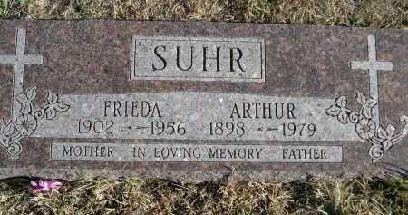 SUHR, FRIEDA - Douglas County, Nebraska | FRIEDA SUHR - Nebraska Gravestone Photos