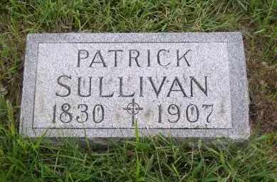 SULLIVAN, PATRICK - Douglas County, Nebraska   PATRICK SULLIVAN - Nebraska Gravestone Photos