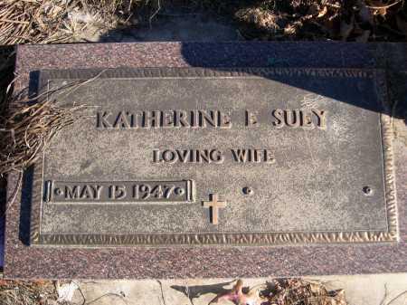 SUEY, KATHERINE E. - Douglas County, Nebraska | KATHERINE E. SUEY - Nebraska Gravestone Photos
