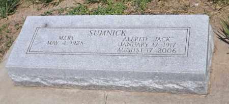 SUMNICK, ALFRED JACK - Douglas County, Nebraska   ALFRED JACK SUMNICK - Nebraska Gravestone Photos