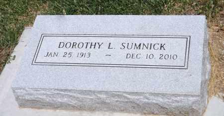 SUMNICK, DOROTHY L. - Douglas County, Nebraska | DOROTHY L. SUMNICK - Nebraska Gravestone Photos