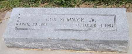 SUMNICK, GUS JR. - Douglas County, Nebraska   GUS JR. SUMNICK - Nebraska Gravestone Photos