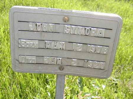 SYKORA, JOHN - Douglas County, Nebraska | JOHN SYKORA - Nebraska Gravestone Photos