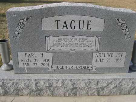 TAGUE, EARL H. - Douglas County, Nebraska | EARL H. TAGUE - Nebraska Gravestone Photos