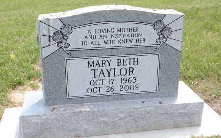 TAYLOR, MARY BETH - Douglas County, Nebraska | MARY BETH TAYLOR - Nebraska Gravestone Photos