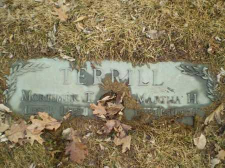 TERRILL, MORTIMER T - Douglas County, Nebraska | MORTIMER T TERRILL - Nebraska Gravestone Photos