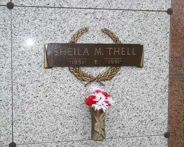 THELL, SHEILA M. - Douglas County, Nebraska | SHEILA M. THELL - Nebraska Gravestone Photos