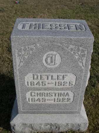 THIESSEN, DETLEF - Douglas County, Nebraska | DETLEF THIESSEN - Nebraska Gravestone Photos
