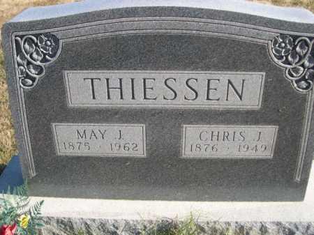THIESSEN, CHRIS J. - Douglas County, Nebraska | CHRIS J. THIESSEN - Nebraska Gravestone Photos
