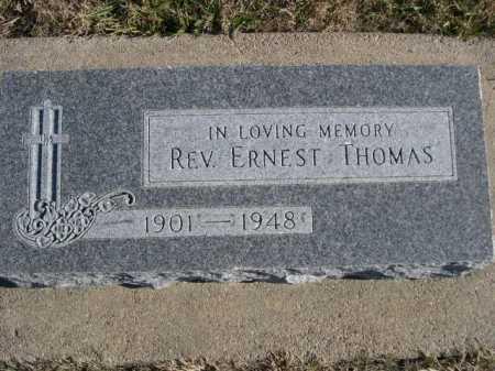 THOMAS, REV. ERNEST - Douglas County, Nebraska | REV. ERNEST THOMAS - Nebraska Gravestone Photos