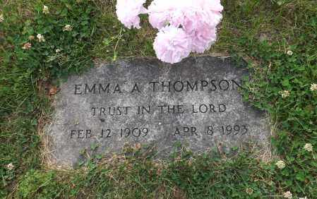 THOMPSON, EMMA A. - Douglas County, Nebraska | EMMA A. THOMPSON - Nebraska Gravestone Photos