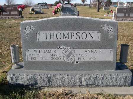 THOMPSON, WILLIAM R. - Douglas County, Nebraska | WILLIAM R. THOMPSON - Nebraska Gravestone Photos