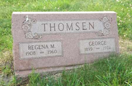 THOMSEN, GEORGE - Douglas County, Nebraska | GEORGE THOMSEN - Nebraska Gravestone Photos