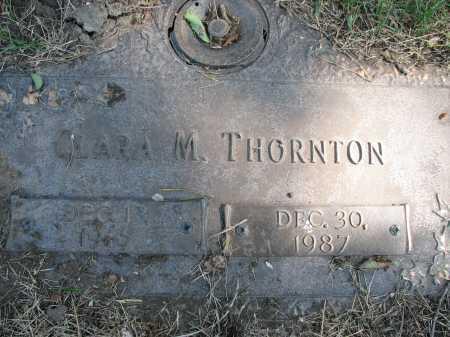 THORNTON, CLARA MARGARET - Douglas County, Nebraska   CLARA MARGARET THORNTON - Nebraska Gravestone Photos