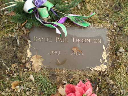 THORNTON, DANIEL PAUL - Douglas County, Nebraska | DANIEL PAUL THORNTON - Nebraska Gravestone Photos