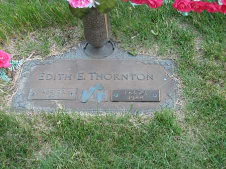 THORNTON, EDITH ESTHER - Douglas County, Nebraska   EDITH ESTHER THORNTON - Nebraska Gravestone Photos