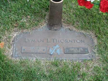THORNTON, LYMAN L - Douglas County, Nebraska | LYMAN L THORNTON - Nebraska Gravestone Photos