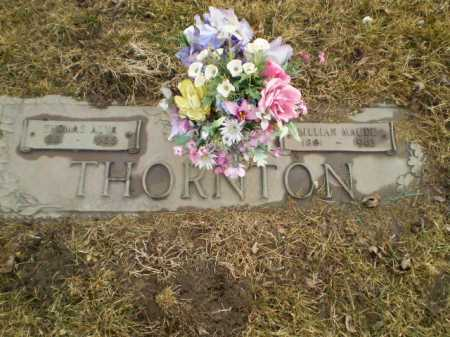 THONRTON, LILLIAN MAUDE - Douglas County, Nebraska | LILLIAN MAUDE THONRTON - Nebraska Gravestone Photos