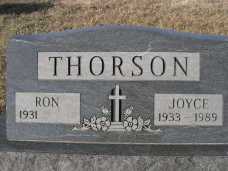 THORSON, RON - Douglas County, Nebraska | RON THORSON - Nebraska Gravestone Photos