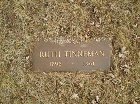 TINNEMAN, RUTH - Douglas County, Nebraska   RUTH TINNEMAN - Nebraska Gravestone Photos