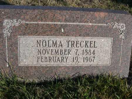 TRECKEL, NOLMA - Douglas County, Nebraska   NOLMA TRECKEL - Nebraska Gravestone Photos