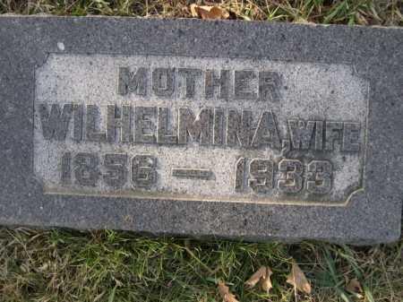 TRECKEL, WILHELMINA - Douglas County, Nebraska | WILHELMINA TRECKEL - Nebraska Gravestone Photos