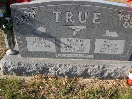 TRUE, JOAN M. - Douglas County, Nebraska | JOAN M. TRUE - Nebraska Gravestone Photos