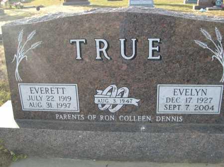 TRUE, EVELYN - Douglas County, Nebraska | EVELYN TRUE - Nebraska Gravestone Photos