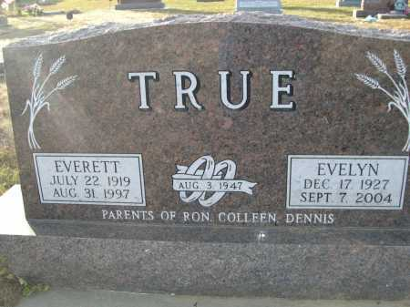 TRUE, EVELYN - Douglas County, Nebraska | EVELYN TRUE - Nebraska Gravestone Photos