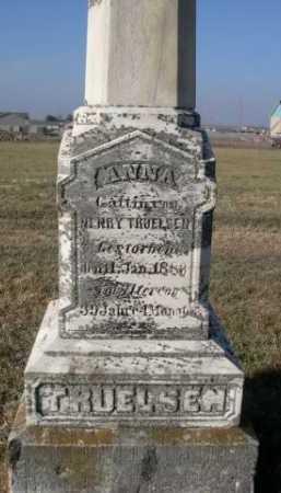 TRUELSEN, ANNA - Douglas County, Nebraska | ANNA TRUELSEN - Nebraska Gravestone Photos
