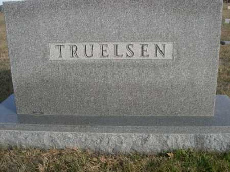 TRUELSEN, FAMILY - Douglas County, Nebraska | FAMILY TRUELSEN - Nebraska Gravestone Photos