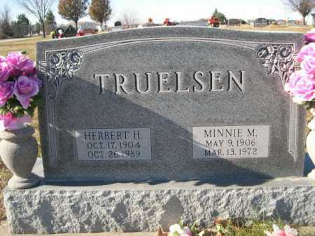 TRUELSEN, MINNIE M. - Douglas County, Nebraska | MINNIE M. TRUELSEN - Nebraska Gravestone Photos
