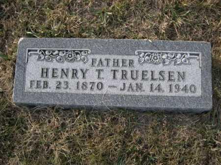 TRUELSEN, HENRY T. - Douglas County, Nebraska | HENRY T. TRUELSEN - Nebraska Gravestone Photos