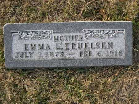 TURELSEN, EMMA L. - Douglas County, Nebraska | EMMA L. TURELSEN - Nebraska Gravestone Photos